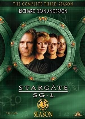 SG-1 season 3 DVD