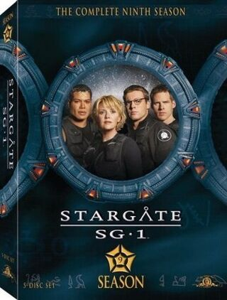 SG-1 season 9 DVD