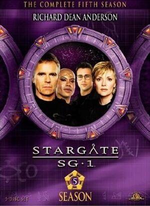 SG-1 season 5 DVD