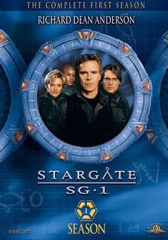 SG-1 season 1 DVD