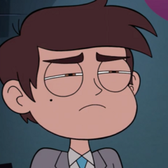 Marco being jealous of Star and Tom