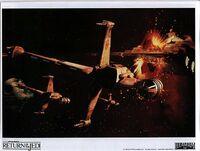 Ship starfighter B-Wing 03