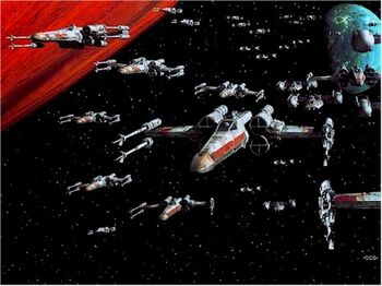Ship starfighter X-Wing 01