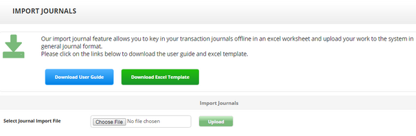 Import journal