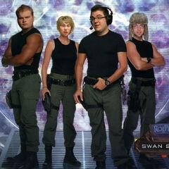 <b>The Swan Song Stargate Crew</b> Created by Metju <a rel=