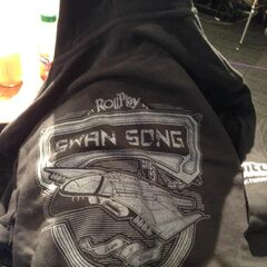 <b>Hi @RealRollPlay Swan Song Hoodie. You are mine... All mine... </b> djWHEAT @djWHEAT