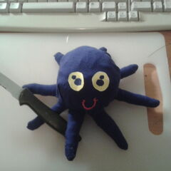 <b>His name is Howard. He is an octopus</b> <a rel=