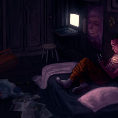 <b>Wu waiting for the next adventure</b> Created by pukiv <a rel=