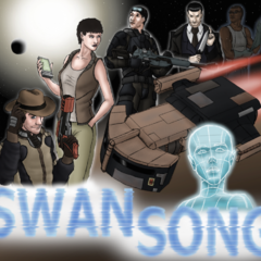 <b>Swan Song Cover Version B</b> Created by SteveNoble197 <a rel=