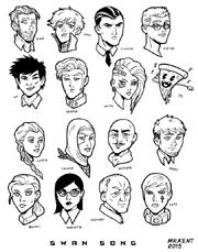 SwanSong Cast