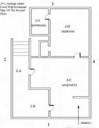 Food Wall Restaurant Second Floor Map