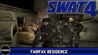 Let's Play SWAT 4- Elite Force -1 - Fairfax Residence -Chow860-