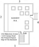 The Wolcott Projects Basement Map
