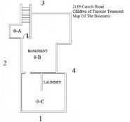 Children of Taronne Tenement Basement Map