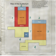 Sellers Street Auditorium Map