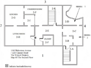 The Wolcott Projects Second Floor Map