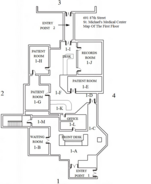 St. Michael's Medical Center First Floor Map