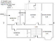 Fairfax Residence First Floor Map