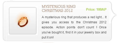 Mysterious Ring Christmas 2012