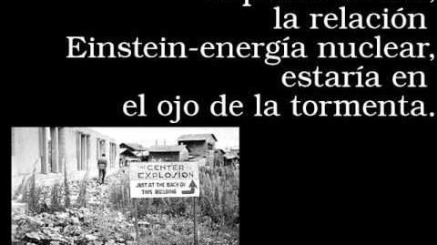 Albert Einstein y la Bomba Atómica