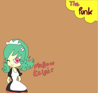 Mallow eclair