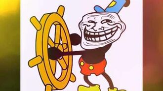 Mickey mouse troll face song