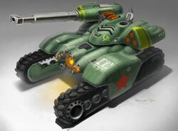 RA3 Concept Soviet HammerTank