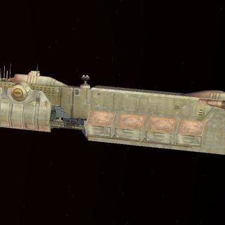 A <i>Super Neimoidia</i>-class Space Transport