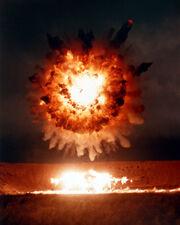Centran missile scores hit