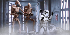 Battle droid arrest