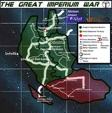 Great Imperium War Map Initial