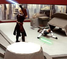 Jedi kill prisoner