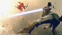 Vash and lerio battle
