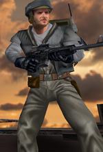 Rebel soldier Bespin