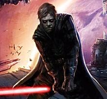 Luke as a Sith