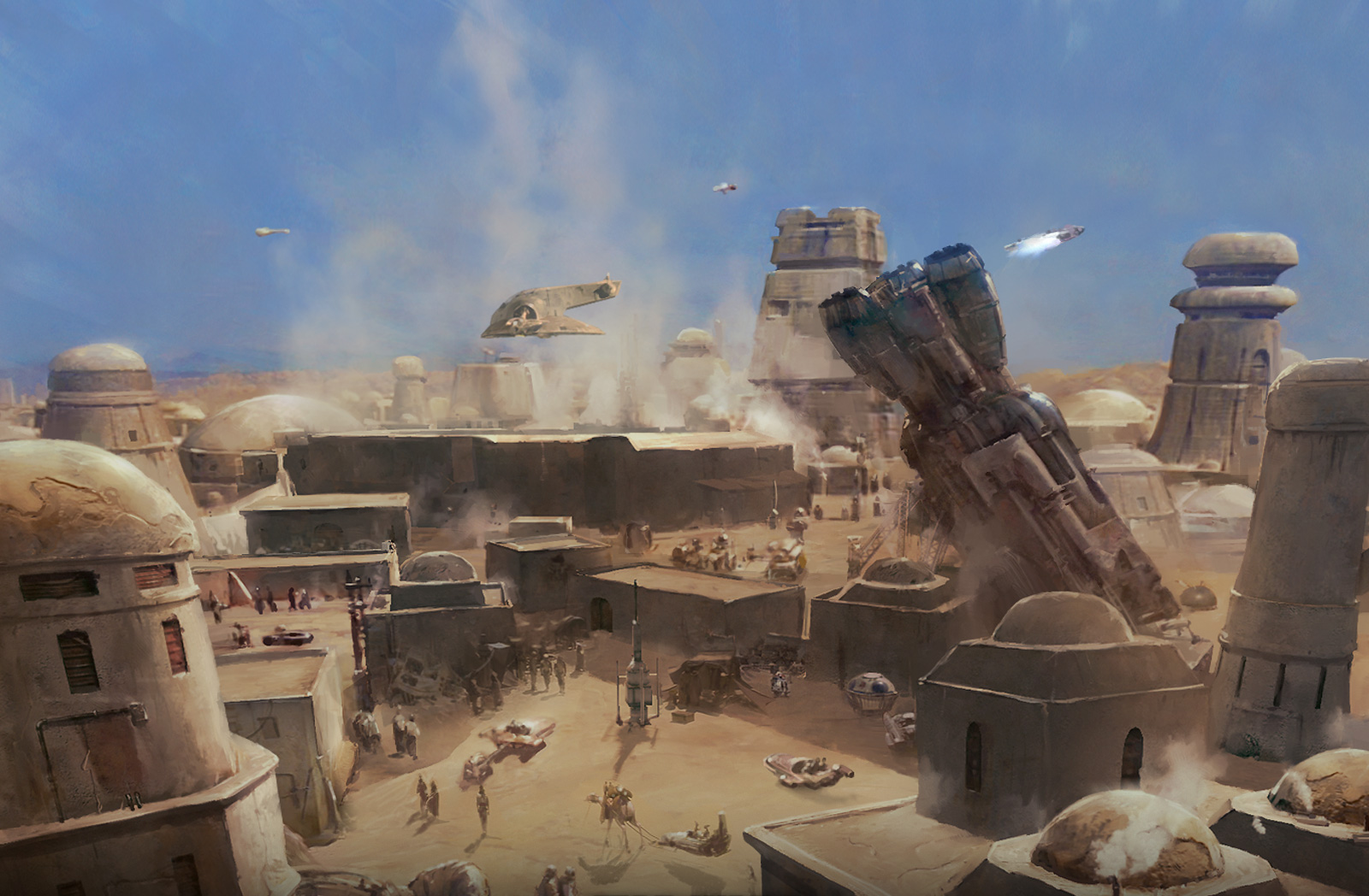 Image result for star wars mos eisley