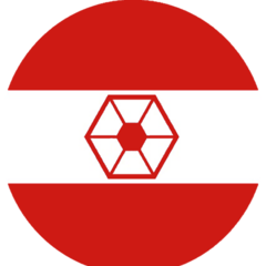 Alternate version of the second roundel used by the Martian Confederacy ca. 19 BBY - 18 BBY