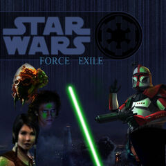 Original <i>Force Exile I</i> cover by Solus, June 2007