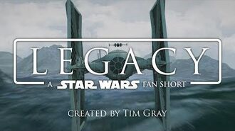 STAR WARS LEGACY - Fan Short