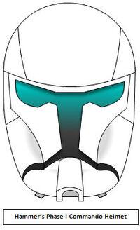 Hammer's Phase I Commando Helmet