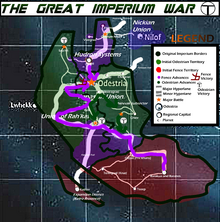 Great Imperium War Map Year 3
