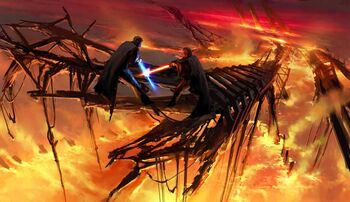 Darth Fenrir vs Jedi