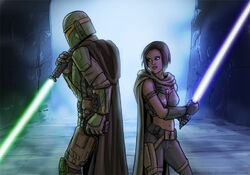 RequestS Jedi Mandalorian by Daennika