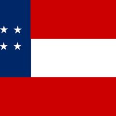 An alternate version of the 10-star flag