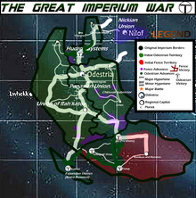 Great Imperium War Map Year 4