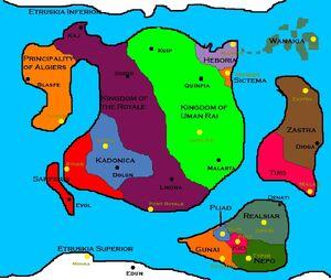Uman Rai map