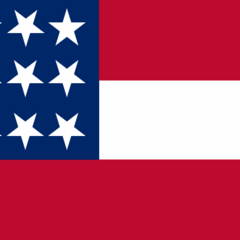 A 12-star Ensign flown by the <a class=