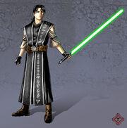 Jerun Othorne As A Jedi Master