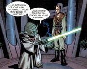 Young Dooku and Yoda