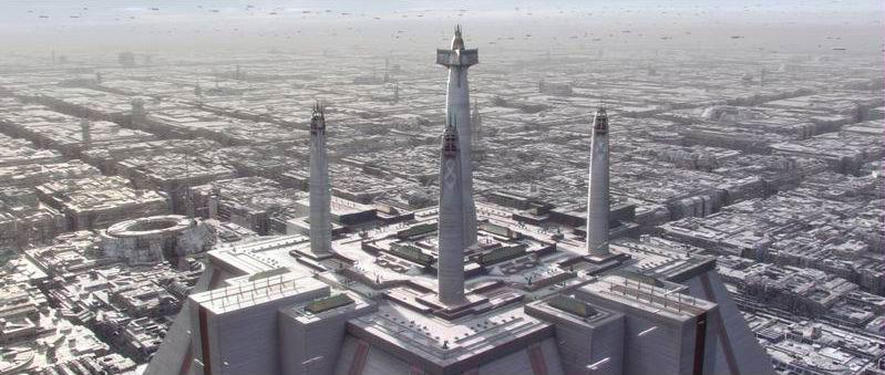 jedi temple - Jedis Garden